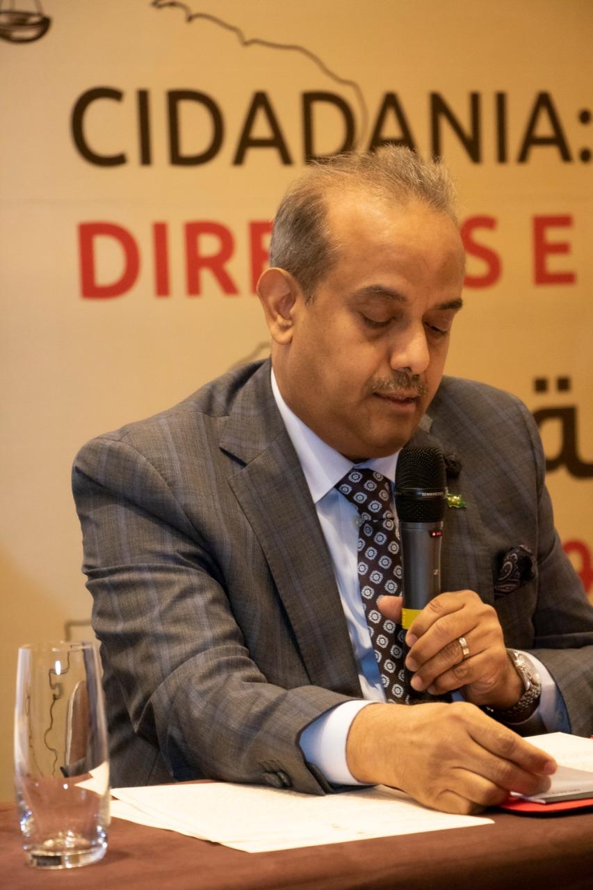embaixador do Reino da Arábia Saudita no Brasil, Ali Abdullah Bahaitham