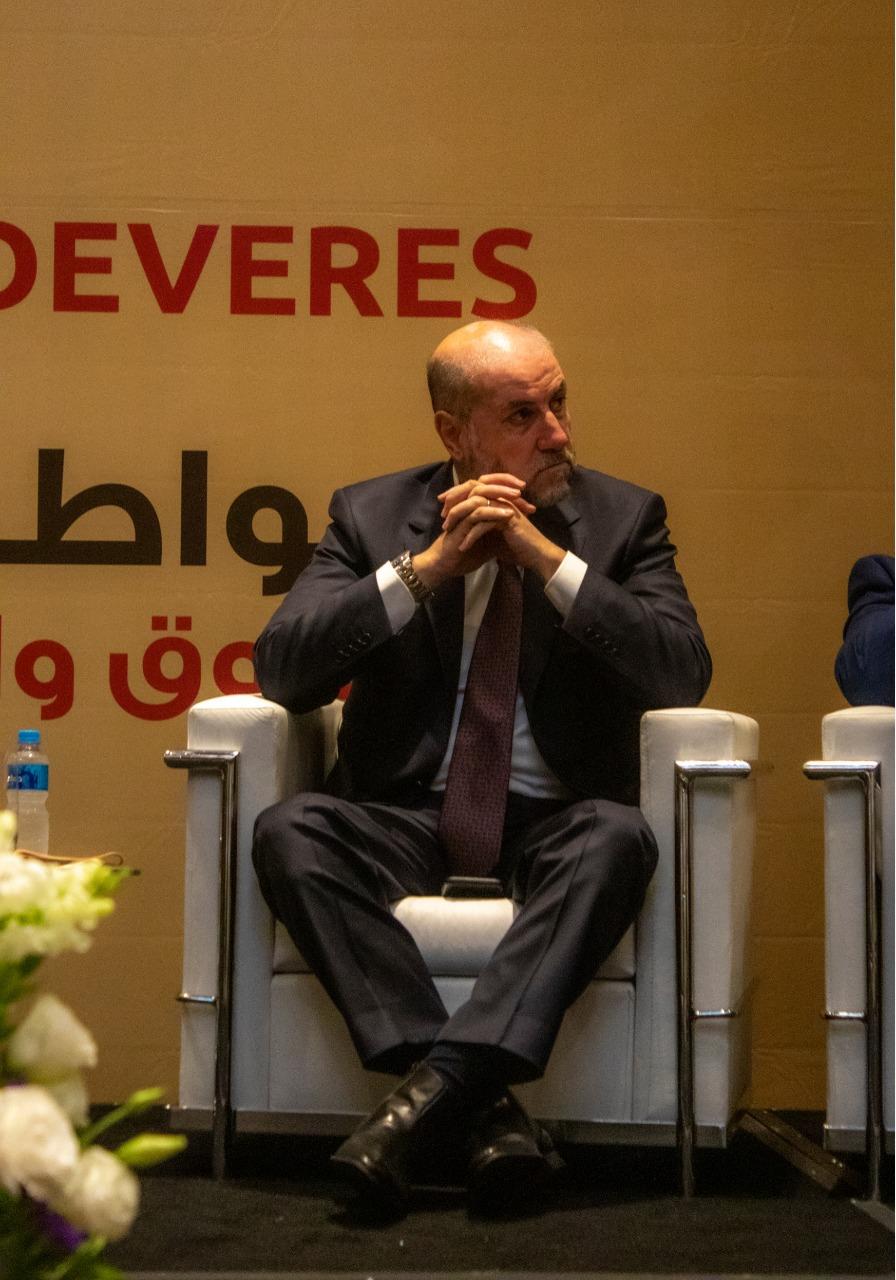 o excelentíssimo Ministro de Assuntos Religiosos da Palestina, Dr. Mahmoud Al Habbashi